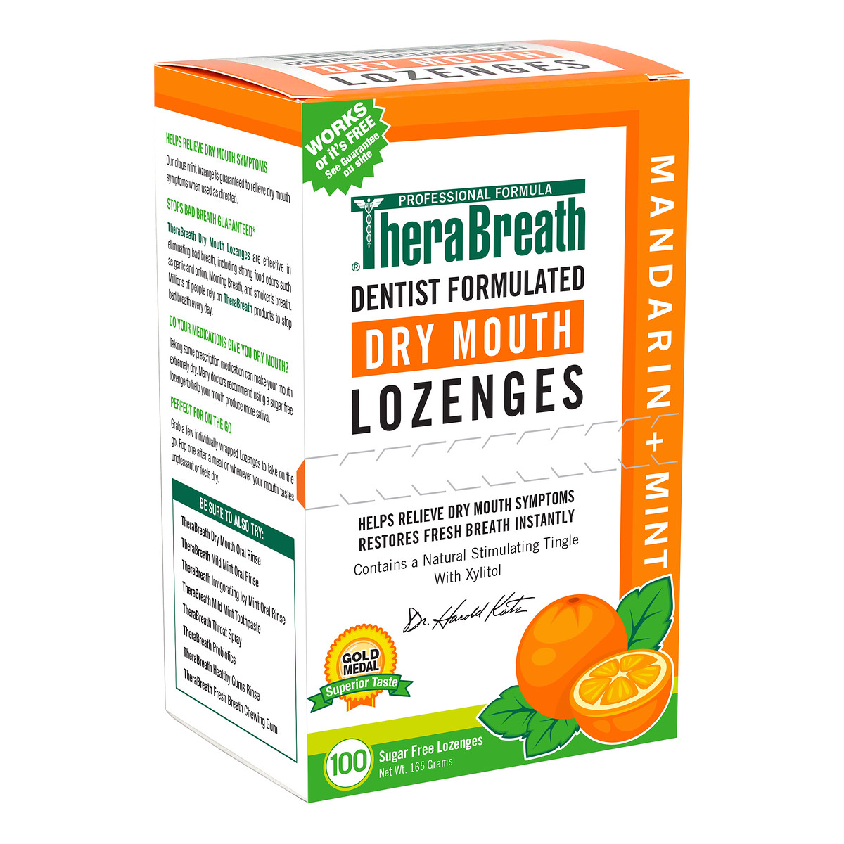 therabreath lozenges